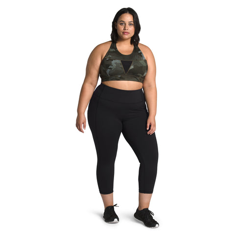 The North Face Plus Motivation High Rise Pocket Crop Women's