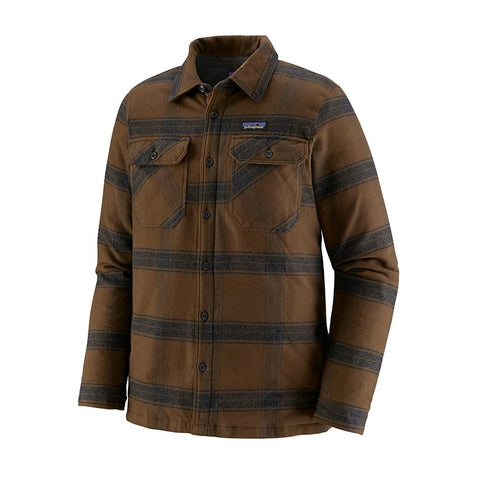 Patagonia Insulated Fjord Flannel Jacket Men's