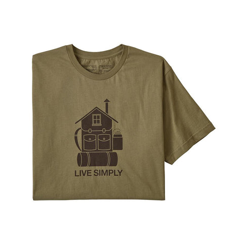 Patagonia Live Simply Home Organic T-Shirt Men's Previous Season