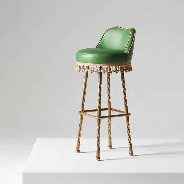 Horton Stool - Spruce Green