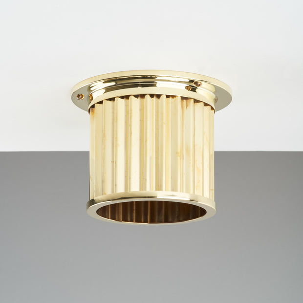 Littleton End Cap Diffuser - Polished Brass