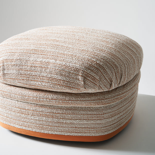 Wickham Ottoman - Wanderer Orange