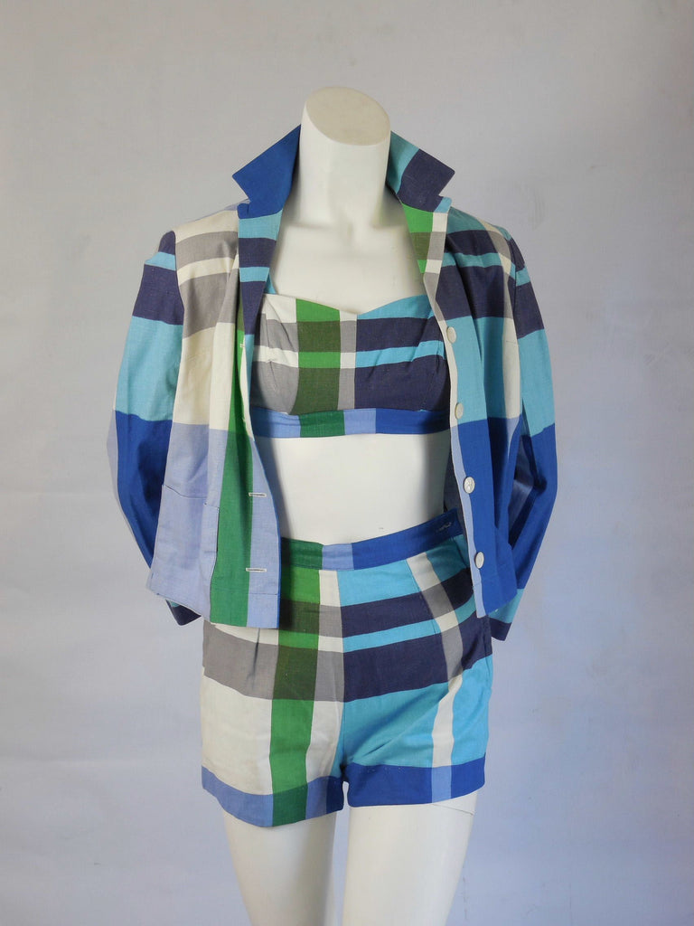 SOLD! 1950 Vintage Bill Atkinson Three Piece Sportswear Set Owned By The Famous Singer Keely Smith
