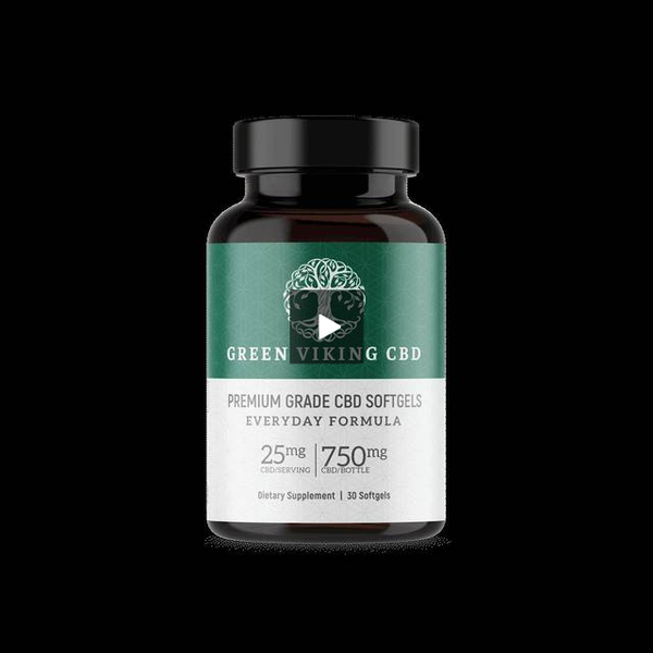 400mg Sports Cream 4oz pump - Green Viking CBD