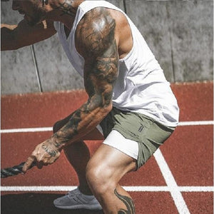 2-in-1 Secure Pocket Training Shorts