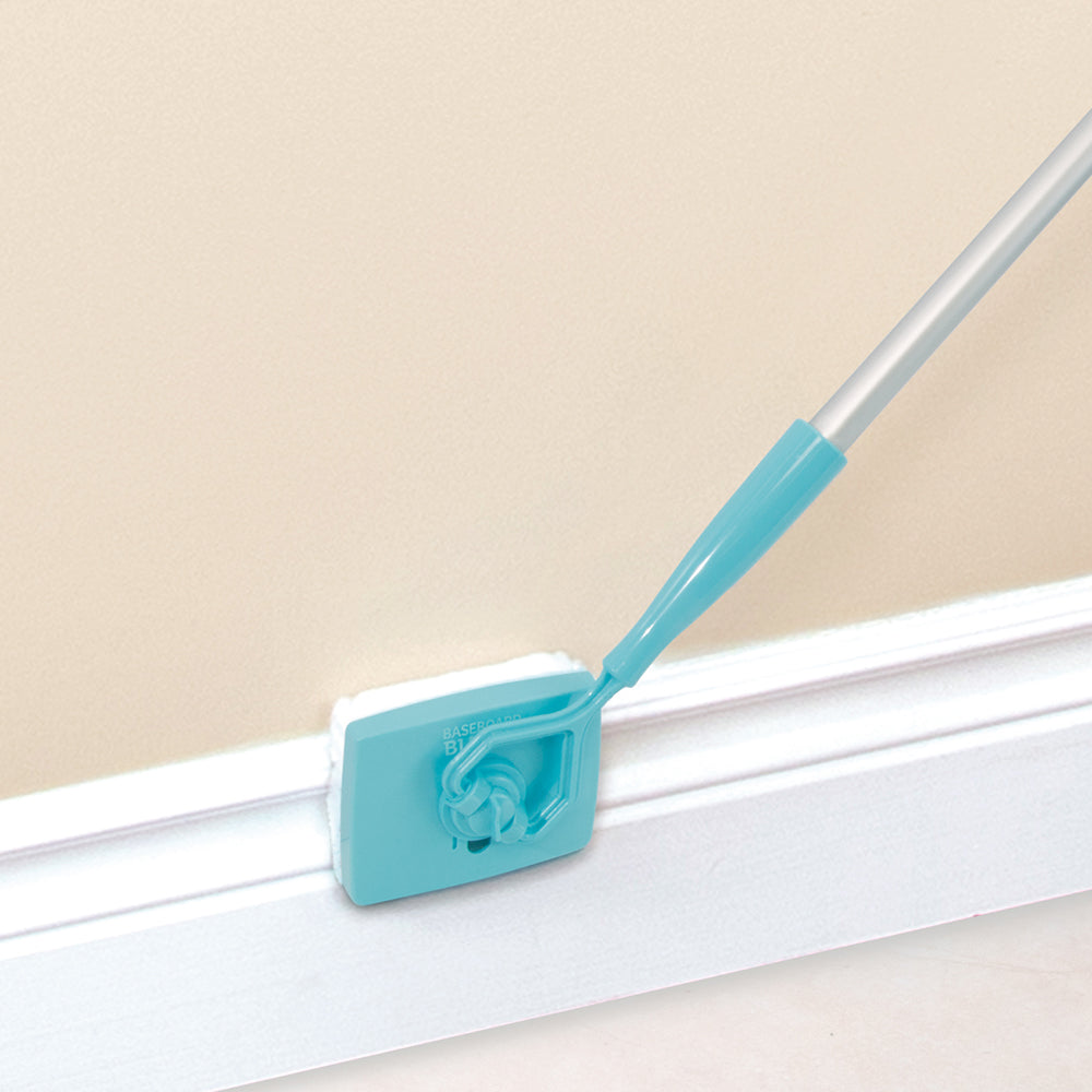 No-Bending Mop Kit for Cleaning Baseboards & Moldings