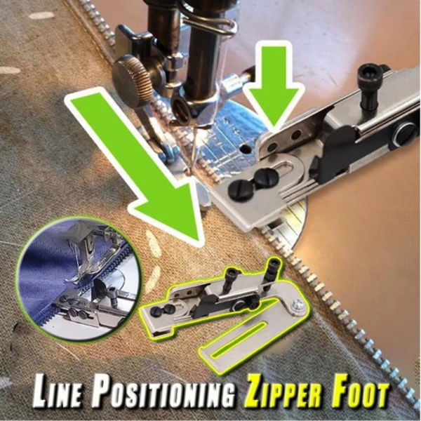 Line Positioning Zipper Foot