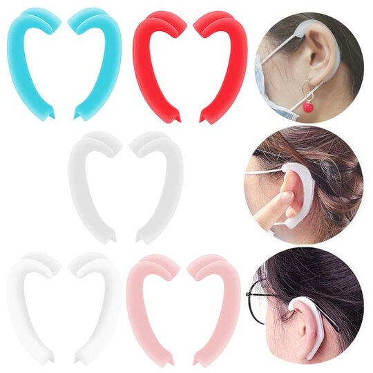 Anti-Slip Silicone Mask Ear Grips
