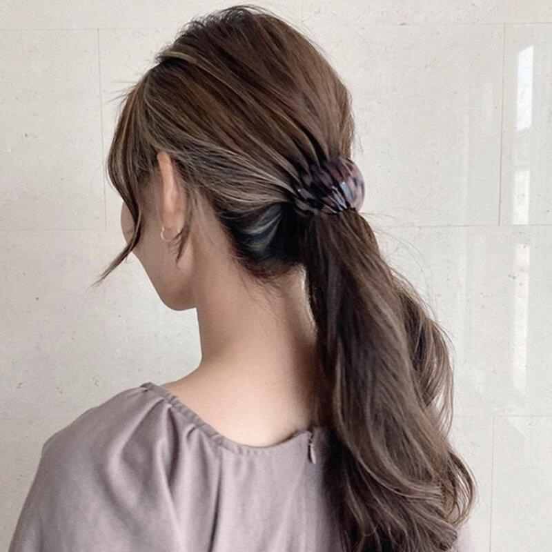 Ponytail Hairpin Curling Iron