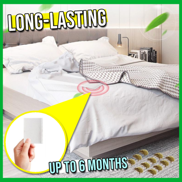 BugOut™- Natural Dust Mites & Bed Bugs Killer (6 Patches)