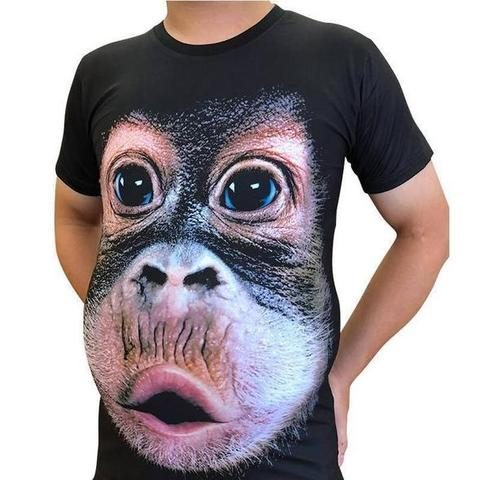 Funny Monkey T-Shirt Awesome Gift For Adults And Kids