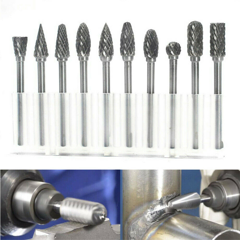 Premium Carbide Rotary Burr Set