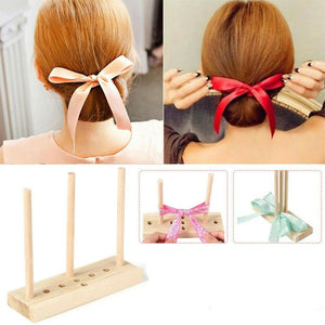 Bow Making Tool For Ribbon