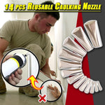 14 pcs Reusable Caulking Nozzle
