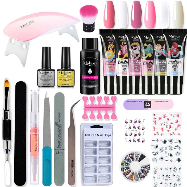 Professional Nail Extension Kit