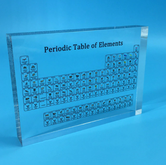 Atomica - Periodic Table With Real Elements
