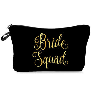 Bridesmaids makeup bags for the entire girl gang!