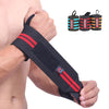 Measuring straps wristbands weightlifting fitness training horizontal