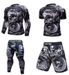 UFC BJJ MMA Work Out Compression Rashguard T shirt Men VS PK