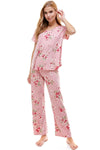 LOUNGEWEAR SET FOR WOMEN'S FLORAL