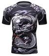 Brand New UFC BJJ MMA Work Out Compression Rashguard T shirt Men VS PK