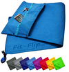 Fitness towel set with zipper compartment + magnetic clip + extra