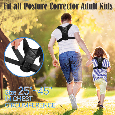 Posture Corrector Back with Adjustable Strap