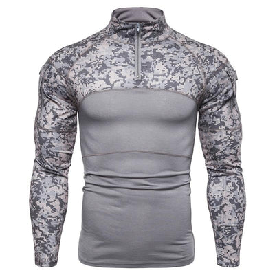Man T-Shirt Compression Tights Men Fitness Running Shirt Breathable