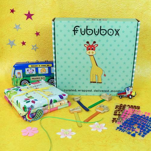 Best Monthly Subscription Box for Kids in India