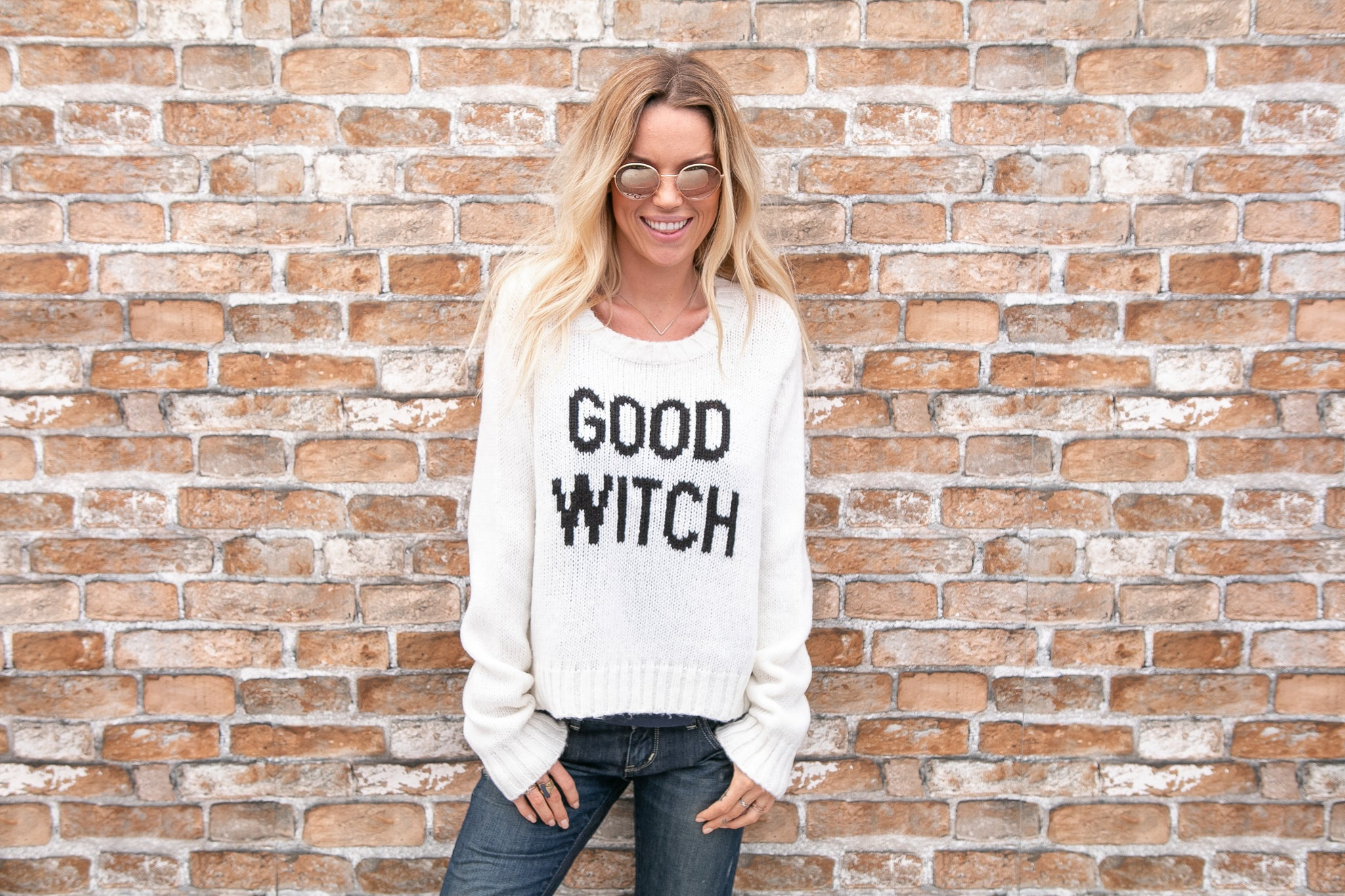 Good Witch Crew Sweater