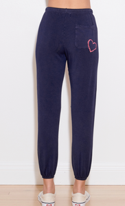 Sundry Sweatpant W/Heart Patch