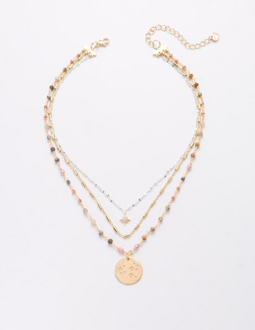 NAKWNXF1084 Rosie Multi-Layer Necklace