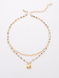 NAKWNXF1085 Monica Multi-Layer Necklace
