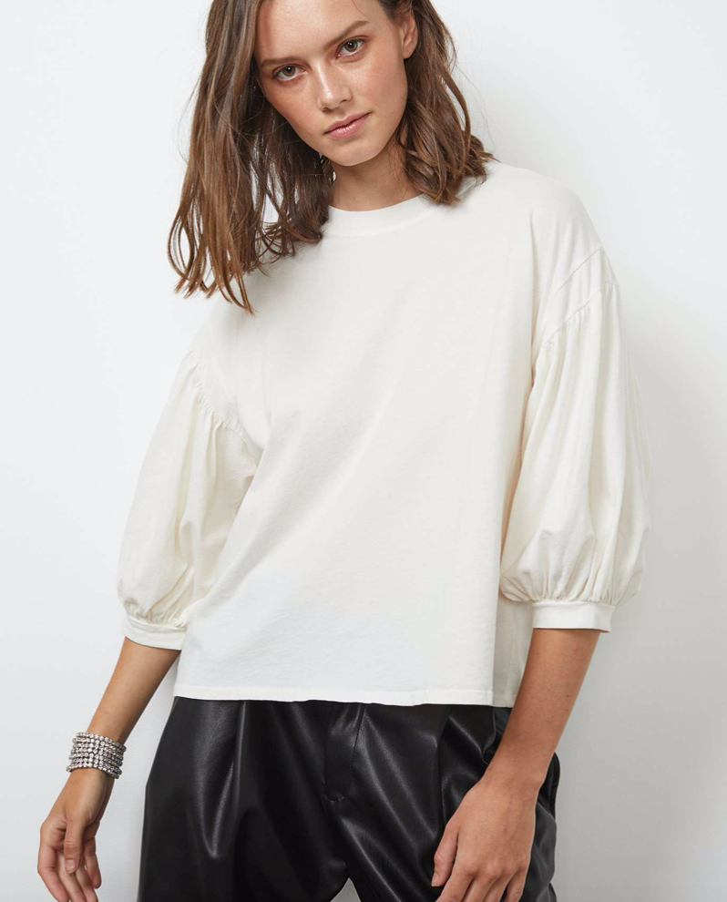 Prudy 3/4 Puff Sleeve Top
