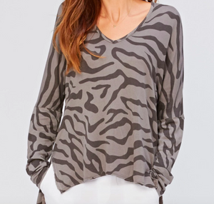 Warrick Printed Sweatshirt