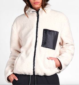 Sherpa Zip Up Jacket
