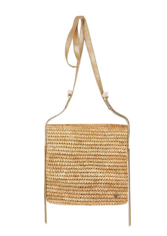 Aguilas Crochet Raffia Cross Body Bag