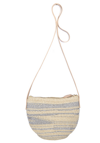 Torcello Woven Abaca Small Shoulder Bag