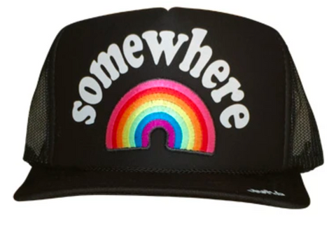 Somewhere Over the Rainbow Trucker Hat