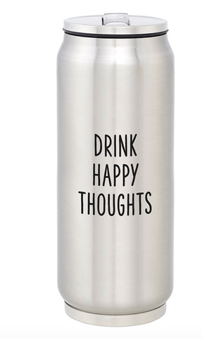 Creative Brands Stainless Can-Happy