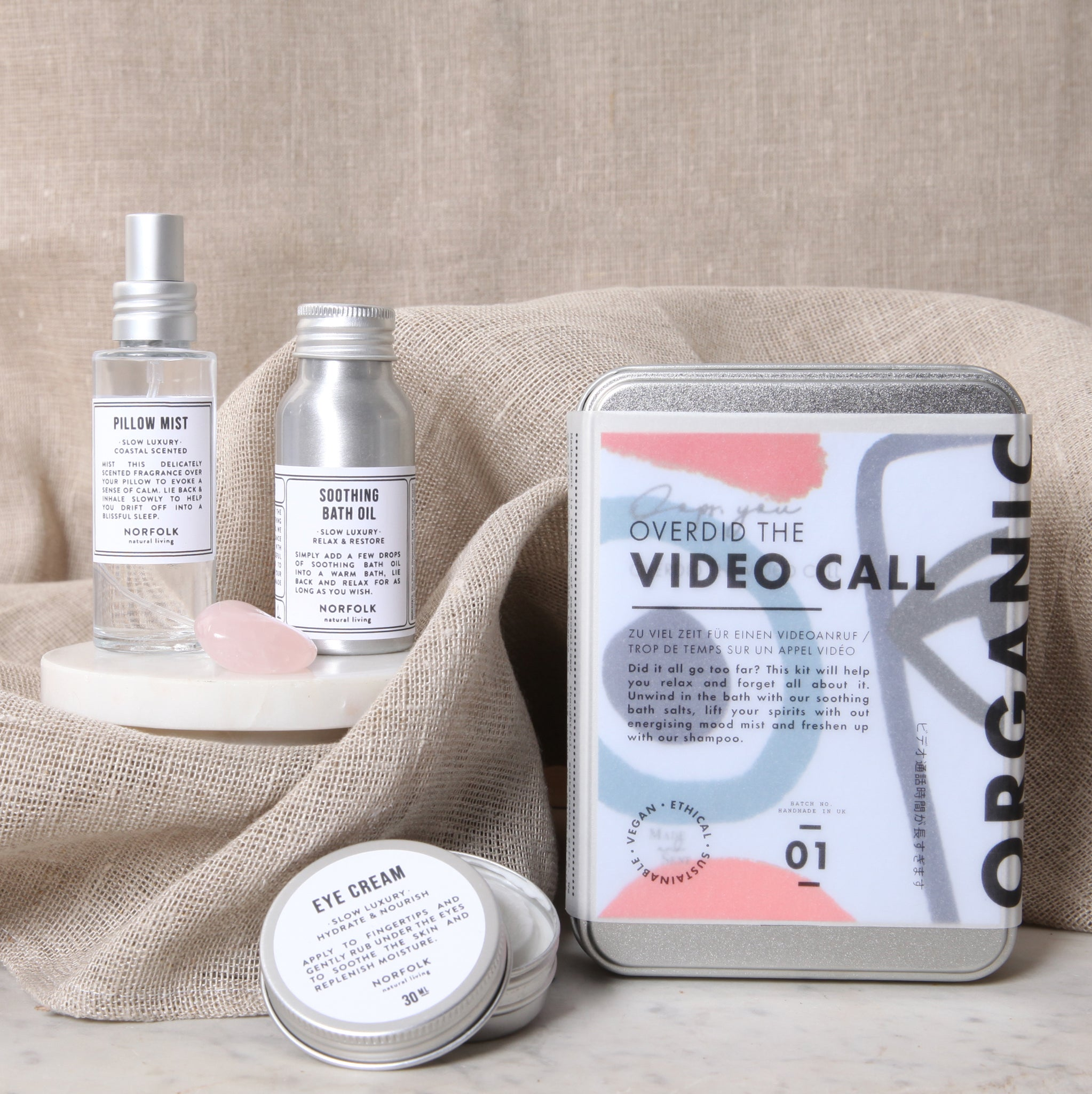Recovery Gift Kit - Overdid the Video Call