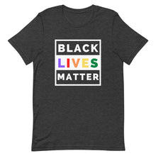 Load image into Gallery viewer, Black Lives Matter LGBTQ+ Unisex T-Shirt