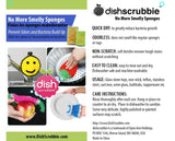 DISH SCRUBBIES: Cute, fun and durable addition to make dishwashing a breeze.  NO ODOR: Dries quickly to eliminate mildew and bacteria build-up.  100% NON-SCRATCH: Safe for all regular surfaces such as stainless, non-scratch pans.