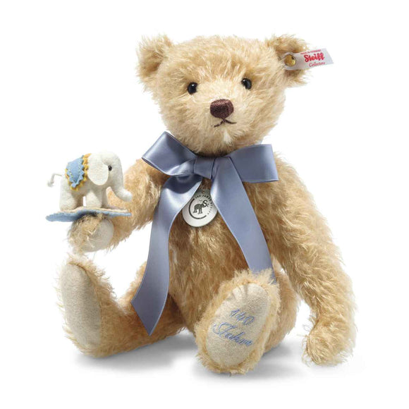 Steiff  Limited Edition Teddy Bear with Little Felt Elephant - 140th Anniversary