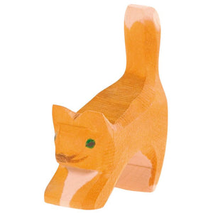 11406 CAT SMALL ORANGE HEAD LOW