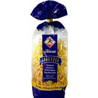 Riesa Spaetzle Original German Home-Style Egg Noodles