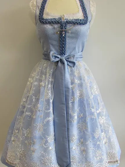 Country Line Light Blue Dirndl