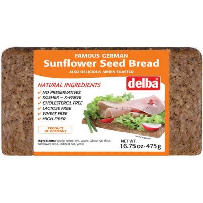 Famous German Delba Sunflower Seed Bread