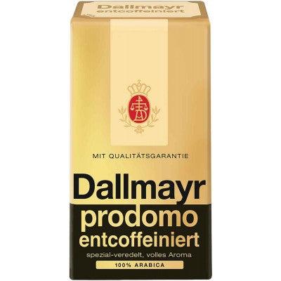 Dallmayr Prodomo Decoffinated Coffee