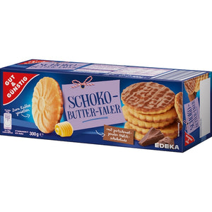 Schoko Butter Taler Chocolate Butter Thaler Cookies